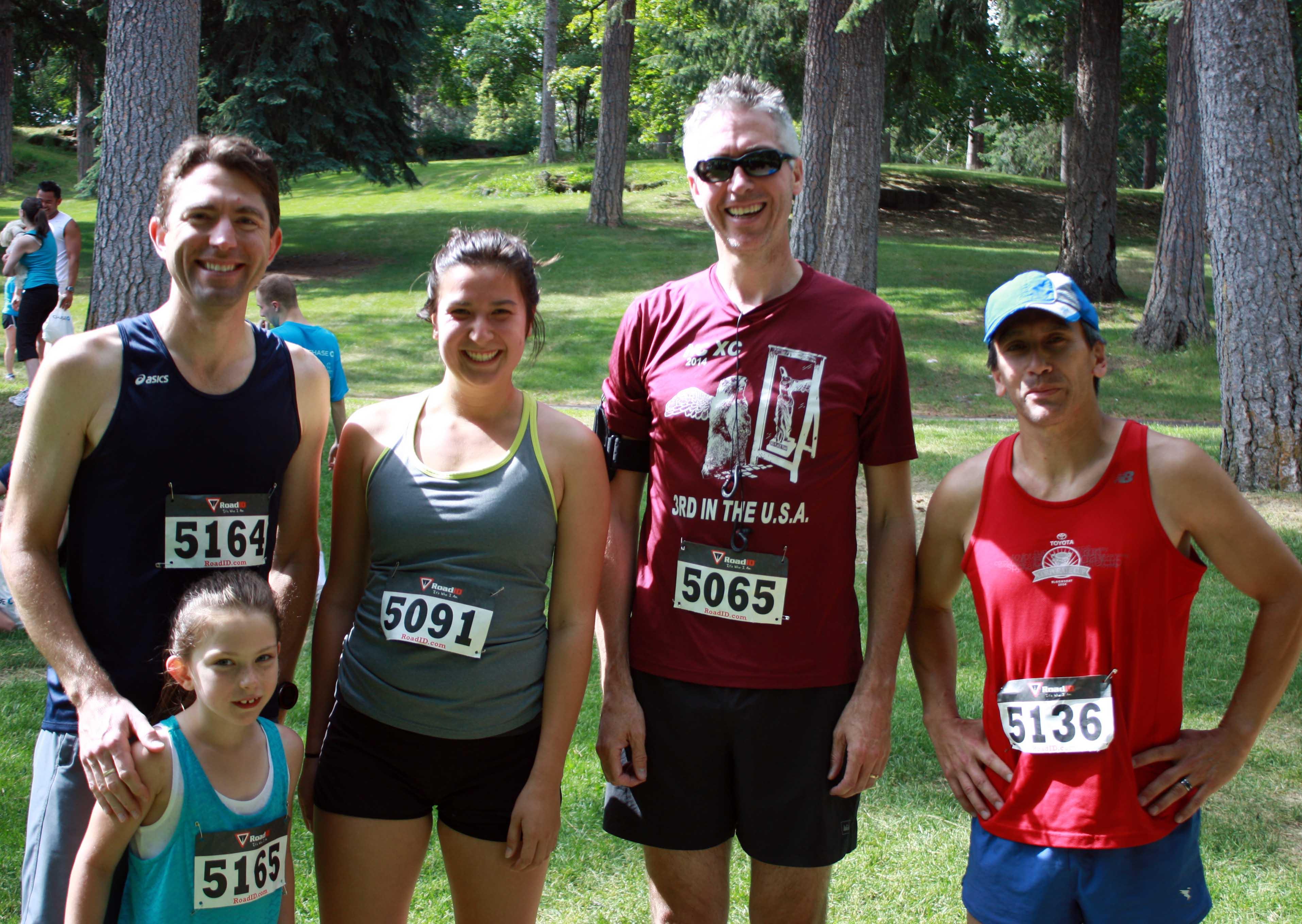 Dad's Day Dash 2015 | Coffman team
